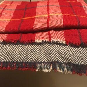 Fashionable blanket scarf